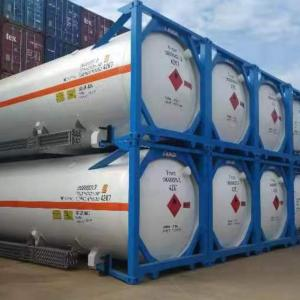 LNG tank-container ready for delivery